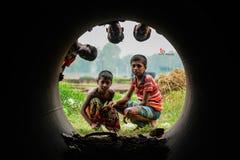 La vie en cercle Photo libre de droits