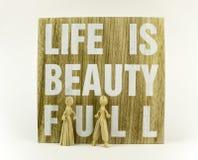 La vie est belle Photographie stock libre de droits