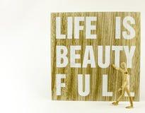 La vie est belle Photo libre de droits