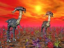 La vie extraterrestre illustration libre de droits
