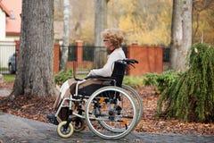La vie handicapée Image libre de droits