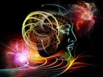 La vie intérieure de l'esprit humain Images libres de droits
