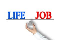 La vie Job Balance illustration libre de droits