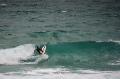 La vie les Cornouailles newquay de plage Photographie stock