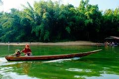 La vie par la rivière Photos libres de droits