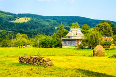 La vie rurale en Ukraine image stock