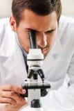 La vie sous le microscope Images libres de droits