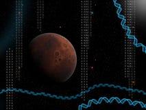 La vie sur d'autres planètes illustration stock