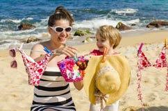 La vie sur la plage Image stock