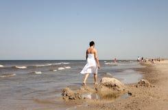 La vie sur la plage Image libre de droits