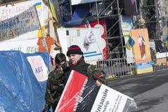 La vie sur le Maidan Image libre de droits