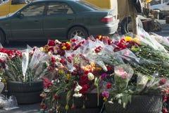 La vie sur le Maidan Image stock