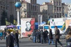 La vie sur le Maidan Photographie stock libre de droits
