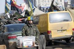 La vie sur le Maidan Photos libres de droits