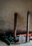 La vie toujours avec de vieux outils Photo stock