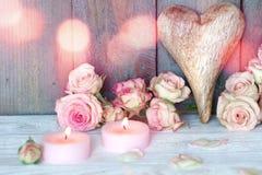 La vie toujours avec le coeur pour le jour de mères Image stock