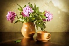 La vie toujours avec un bouquet Photos stock