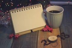 La vie toujours avec une tasse de café et une inscription 2018 Photo stock