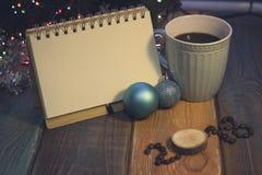La vie toujours avec une tasse de café et une inscription 2018 Image libre de droits