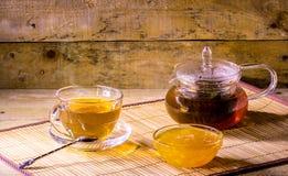 La vie toujours avec une tasse de thé Images libres de droits