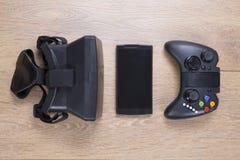 La vie toujours des dispositifs de divertissement et de jeu Photographie stock libre de droits