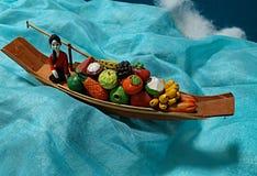La vie toujours du bateau photo stock