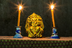 La vie toujours - Lord Ganesh Images stock