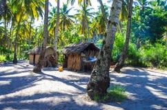 La vie traditionnelle de village Image libre de droits