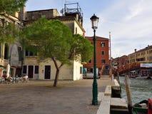 La vie urbaine de Venise Photo libre de droits