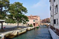 La vie urbaine de Venise Images stock