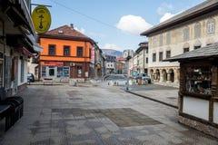 La vieille architecture 01 de ville Image stock