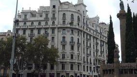 La vieille, belle maison à Barcelone l'espagne clips vidéos