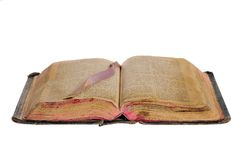 La vieille bible Photographie stock