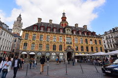 La Vieille Bourse (old stock exchange building) Royalty Free Stock Photo