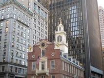 La vieille Chambre d'état à Boston, mA Image stock