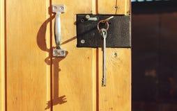 La vieille clé Image stock