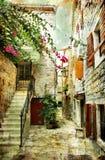 La vieille Croatie Images libres de droits