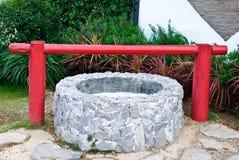 La vieille eau-bien. image libre de droits