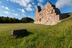 La vieille forteresse en Finlande Photographie stock