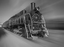 La vieille locomotive à vapeur photos libres de droits