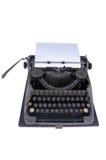 La vieille machine à écrire Image stock