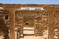 La vieille maison dans Kuldhara a abandonné le village près de Jaisalmer, Image libre de droits