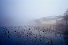 La vieille maison de la Chine Images libres de droits