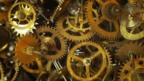 La vieille montre embraye le fond avec des neufs apparaissants