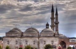 La vieille mosquée à Edirne Images libres de droits