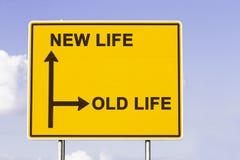 La vieille nouvelle vie Photo libre de droits