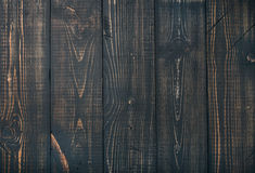 La vieille obscurité a roussi la texture en bois, le papier peint ou le fond Images stock
