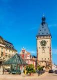 La vieille porte de Speyer - l'Allemagne Photographie stock libre de droits