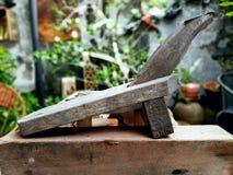 La vieille râpe de noix de coco Image libre de droits