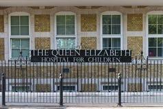 La vieille Reine Elizabeth Hospital pour des enfants image stock